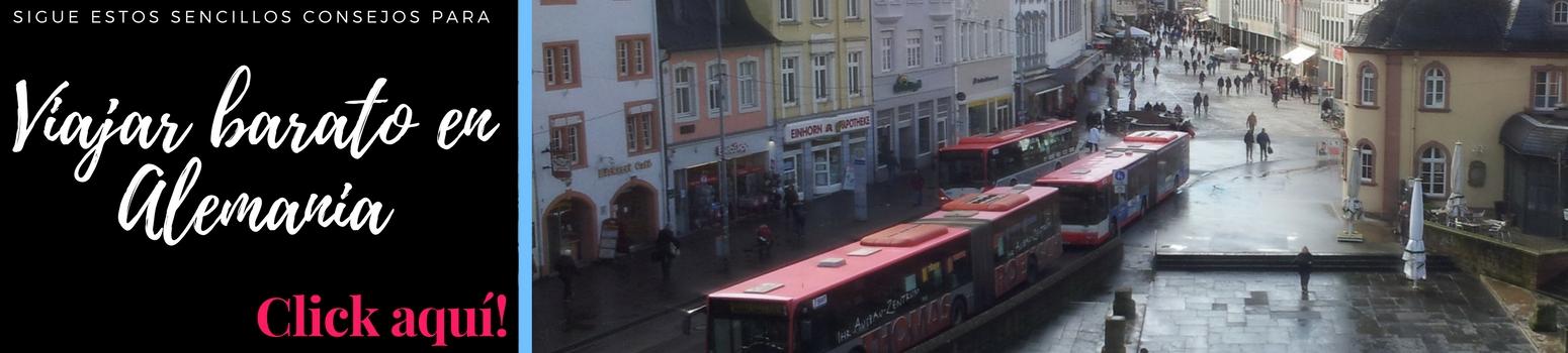 Viajar barato en Alemania